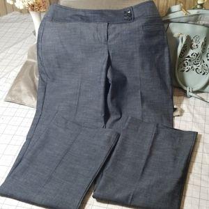 Ann Taylor Charcoal Julie Pant Size 0
